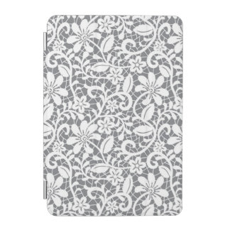 White Lace 1 iPad Mini Cover