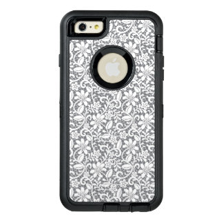 White Lace 1 OtterBox Defender iPhone Case