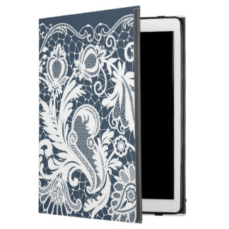 "White lace 2 iPad pro 12.9"" case"
