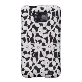 white lace galaxy SII cases