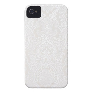 White Lace iPhone 4 Case-Mate Case