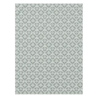 White Lace Swirl Renaissance Tablecloth