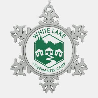 White Lake Snowflake Ornament
