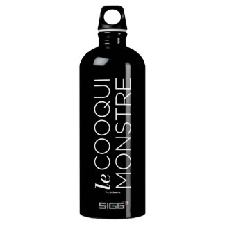 White le Cooqui Monstre Water Bottle