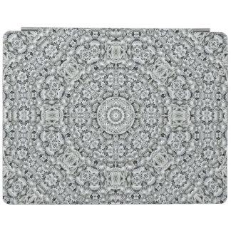White Leaf Kaleidoscope   iPad Smart Covers iPad Cover