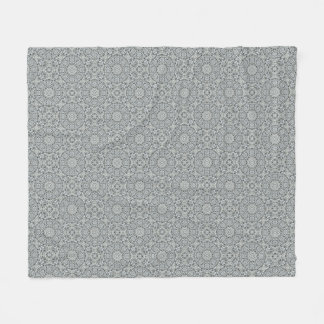 White Leaf  Two   Fleece Blankets, 3 sizes
