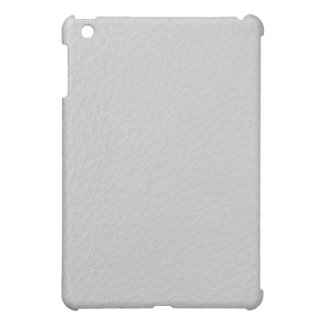 White leather iPad mini covers