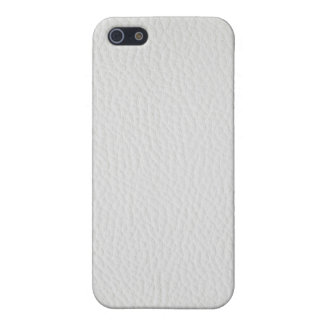 White leather iPhone 5/5S covers