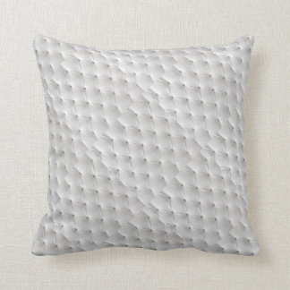 White Leather Throw Pillow : Leather Cushions - Leather Scatter Cushions Zazzle.co.uk