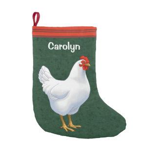 White Leghorn Chicken Hen