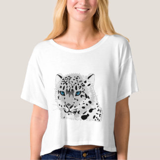White Leopard Animal Collection T-Shirt