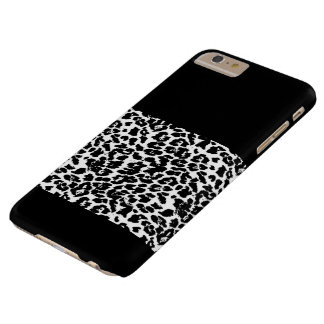 White leopard iphonecase barely there iPhone 6 plus case