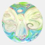 White Light Angel Sticker