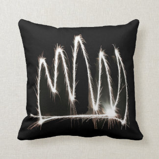 White Light Sparkler Pillow