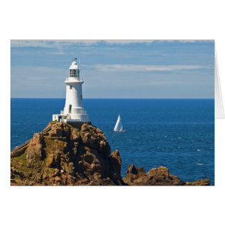 White Lighthouse (Birthday Card) Card