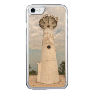 White lighthouse carved iPhone 8/7 case