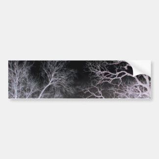 White lightning bumper sticker