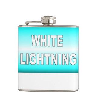 White Lightning Hip Flask