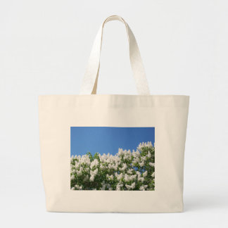 White Lilacs 2 Jumbo Tote Bag