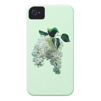 White Lilacs iPhone 4 Case