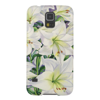 White Lilies 2008 Galaxy S5 Cover