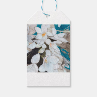 White Lilies Gift Tags