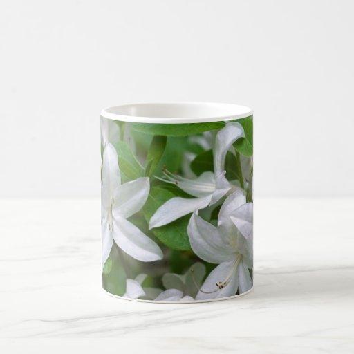 White Lilly Coffee Mug