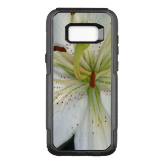 White Lily Close Up OtterBox Commuter Samsung Galaxy S8+ Case