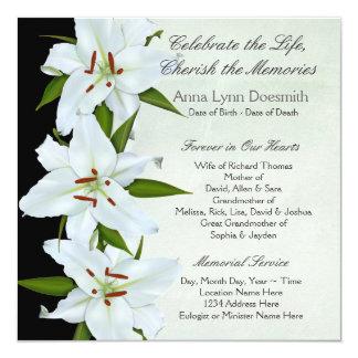 Funeral Invitations Announcements Zazzlecouk