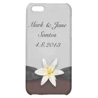White Lily iPhone 5C Case