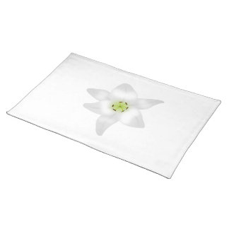 White Lily. Placemat