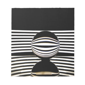 White lines notepad