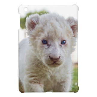 WHITE LION CUB CASE FOR THE iPad MINI
