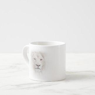 White Lion Head Espresso Cup