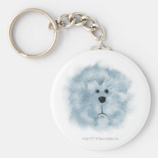 White_Lion Keychains