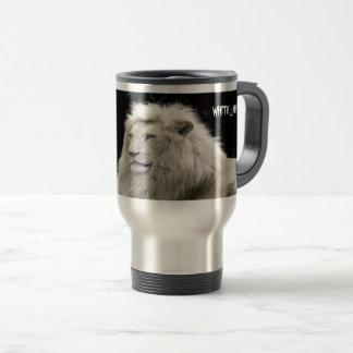 White Lion Travel Coummuter Mug