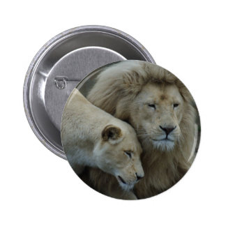 White Lions Buttons