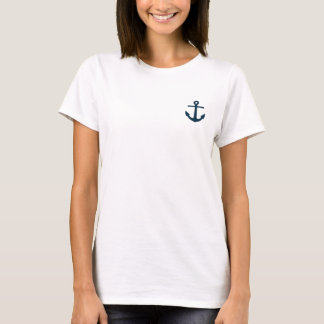 White Live Where You Vacay Women's Tee
