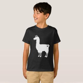 White Llama Kids T-shirt