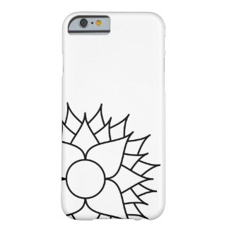 White Lotus Barely There iPhone 6 Case