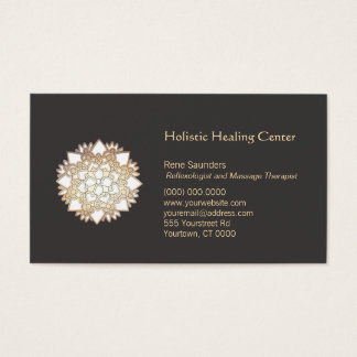 White Lotus Holistic Healing Arts Business Card