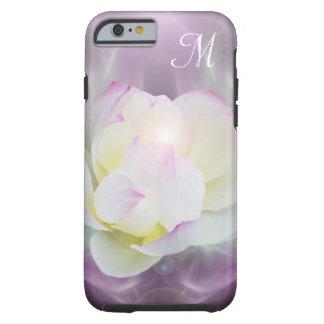 White lotus Monogram Tough iPhone 6 Case