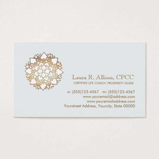 White Lotus Wellness Healing Arts Business Card