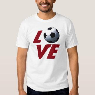 White Love Soccer - Latin European Football TShirt