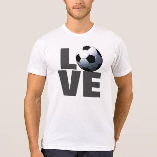 White Love Soccer T-Shirt