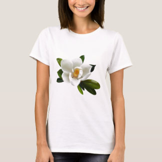 white magnolia bloom T-Shirt