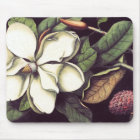 White Magnolia Mousepad, Cool Mousepads