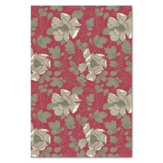 White magnolias tissue paper