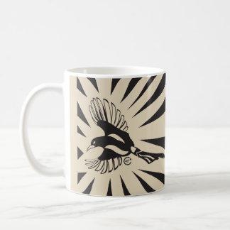White Magpie Message 11 oz Classic Mug