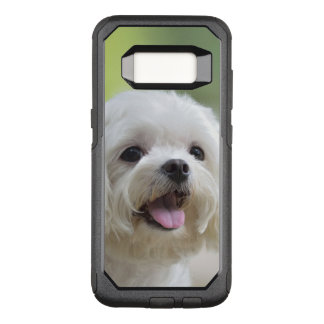 White Maltese Dog OtterBox Commuter Samsung Galaxy S8 Case